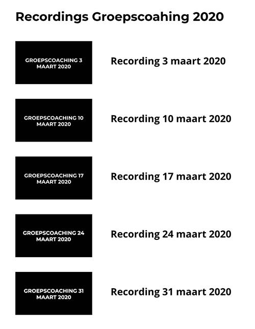Recordins-Groepscoaching
